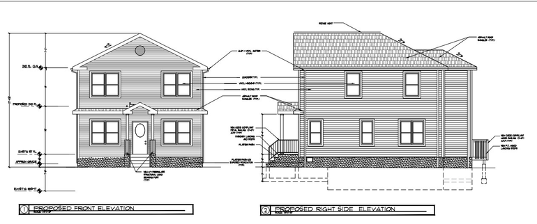 Red Bank Zoning Board Reviews Second Story Addition