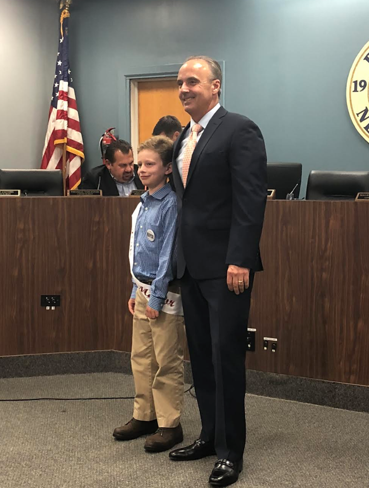 Roseland Borough Council Names Aaron Klaff as New Honorary Mayor