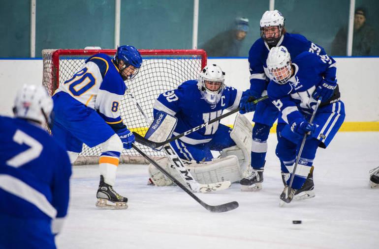 Westfield Blue Devil Ice Hockey Varsity Vantage