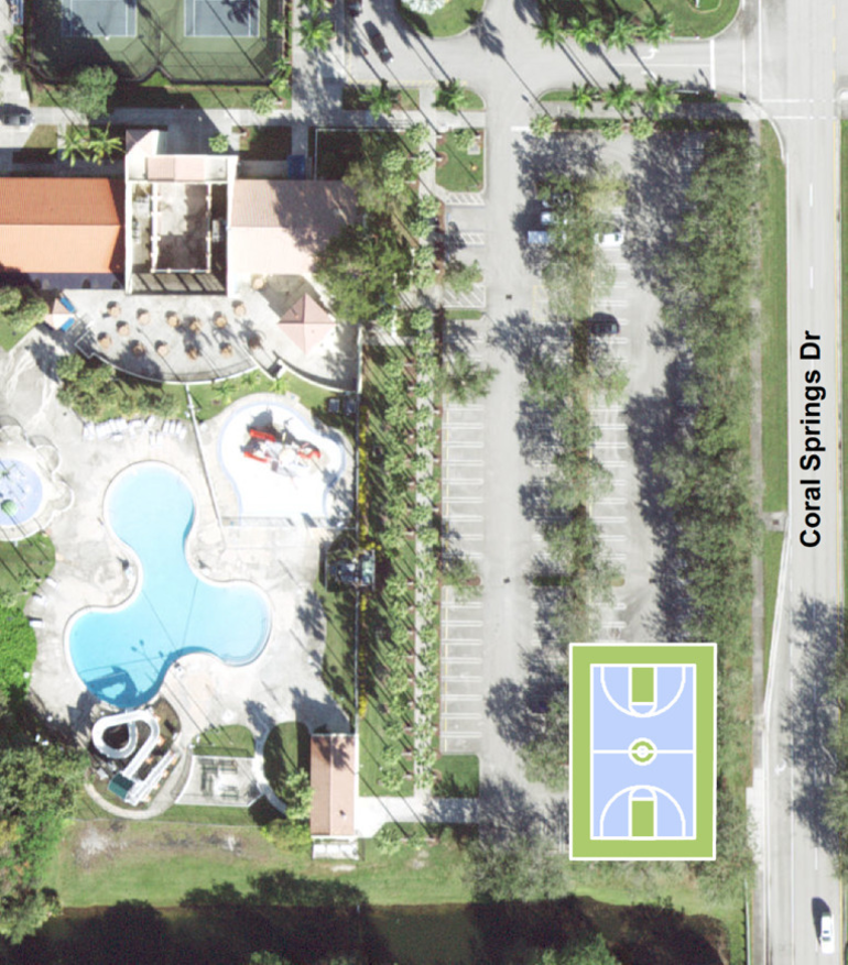 Coral Springs To Build New Basketball Court Across From Cypress Park
