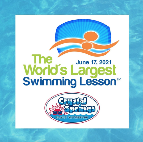 'World's Largest Swimming Lesson' at Crystal Springs This Week