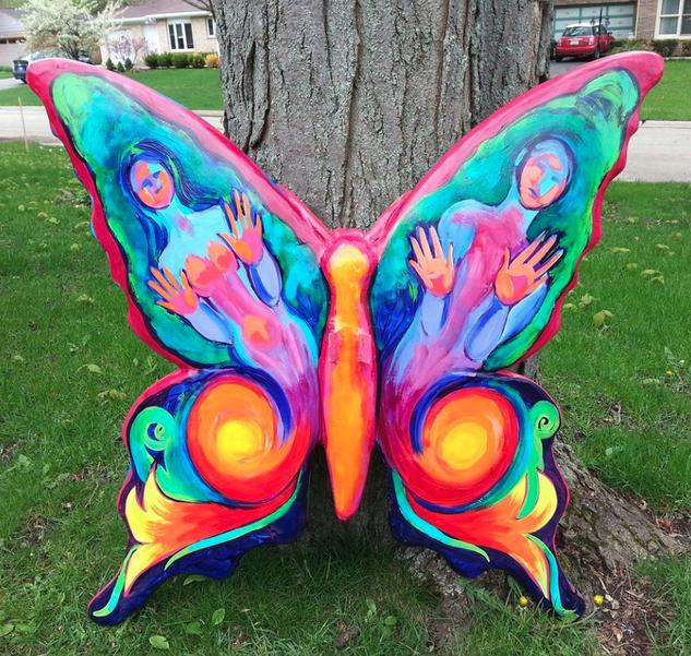 butterfly project public art