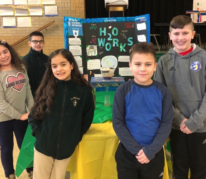 St. Michael's School Students Create STEM Projects With Aim to Help Solve Real-Life Global Problems