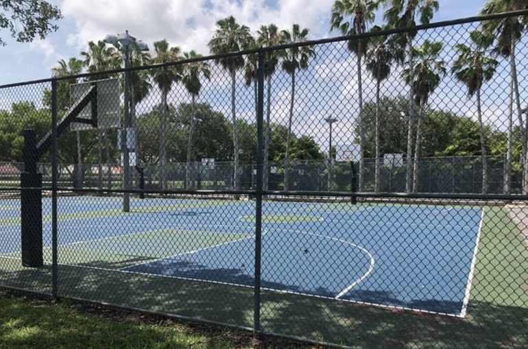 Coral Springs Looks At Options To Keep Basketball Courts at Cypress Park