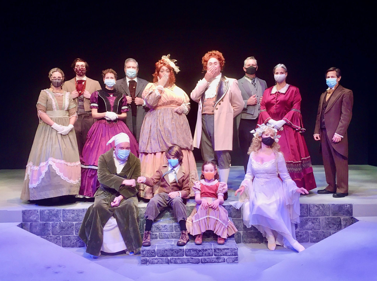 """Chatham Community Players to Present a Special Streaming Production of Their Beloved, """"A Christmas Carol"""""""