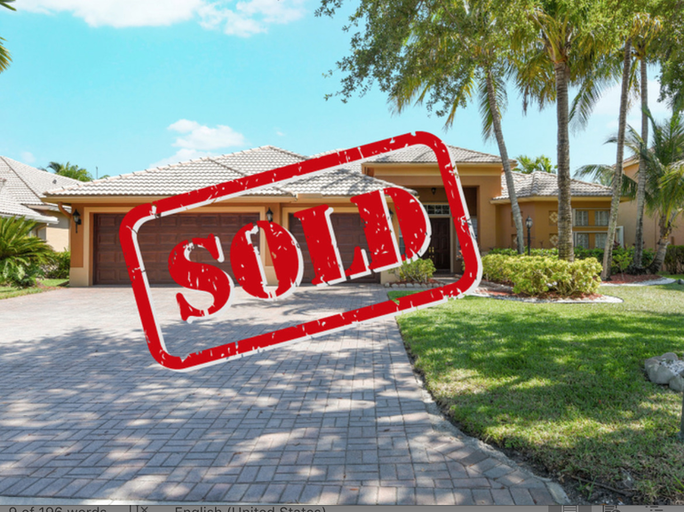 MAP: Homes Sold In Coral Springs, May 28-June 4, Including $949,800 Home In Heron Bay