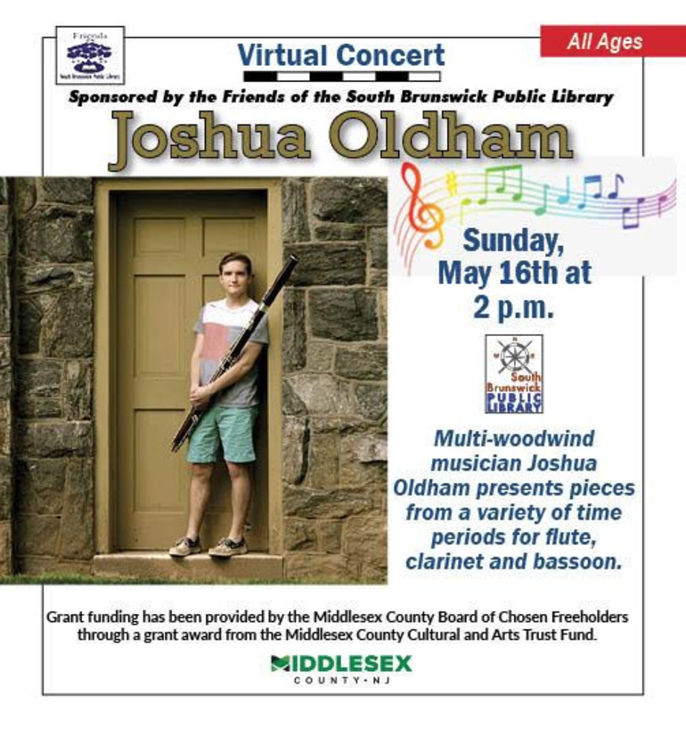 SBHS Teacher Josh Oldham to Present Online Concert