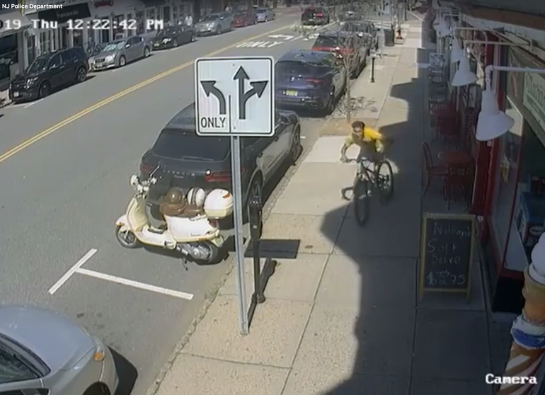 Westfield NJ bicycle theft