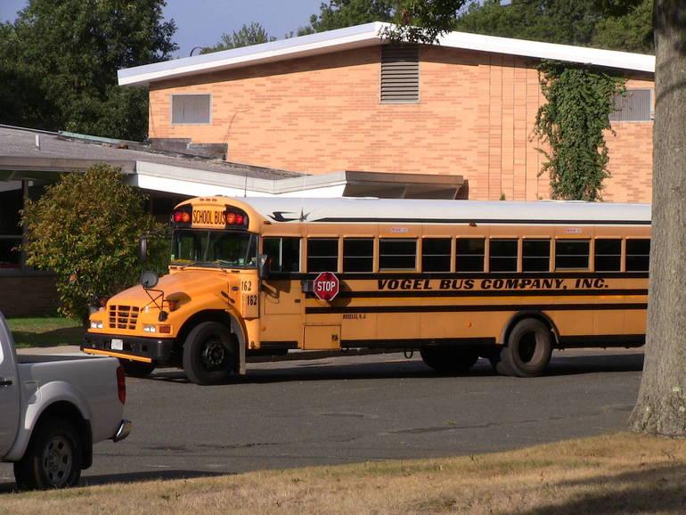 School Bus at Coles.JPG