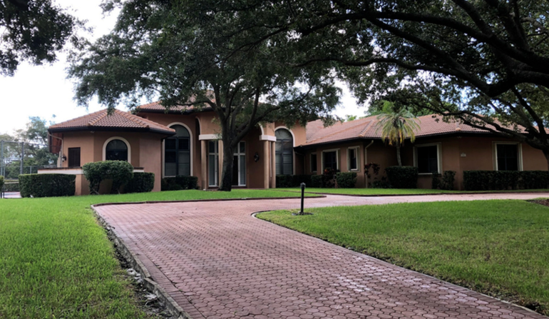 One of the properties permitted to house clients of Legacy Healing Center of Margate in the Coral Hills neighborhood of Coral Springs. This house is at 4225 NW 100 Avenue.