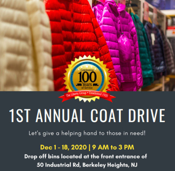 The Liberty Group Holds First Annual Coat Drive to Benefit Howard's Mission