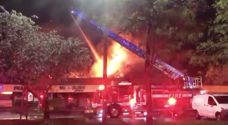 Coral Springs Firefighters Extinguished Fire on University Drive