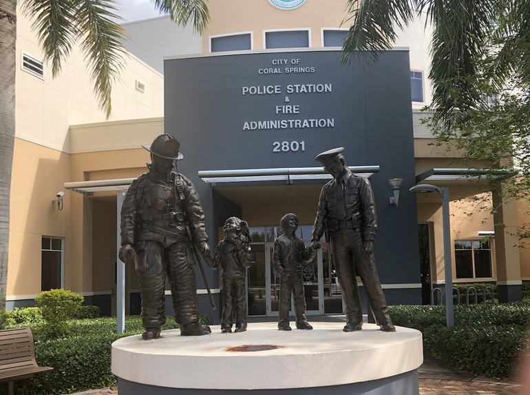 Coral Springs Police Department headquarters