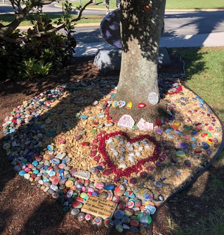 Spreading Kindness in Coral Springs with Rocks