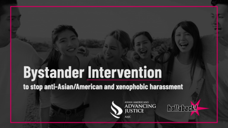 Bystander Training for Anti-Asian Harassment; Tonight March 8 at 6pm