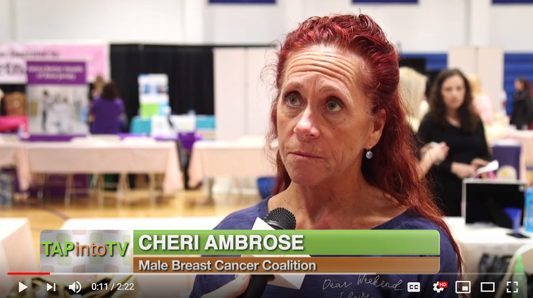 Cheri Ambrose, Founder of the Male Breast Cancer Coalition