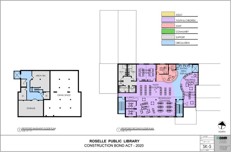 Library Renovation Plans 3