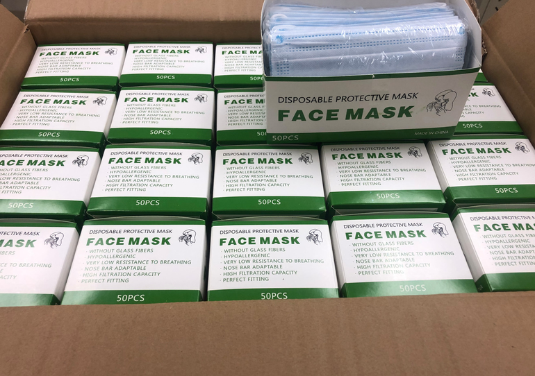 Coral Springs Assisted Living Residents Needed Masks. Rotary Club Came To Help.