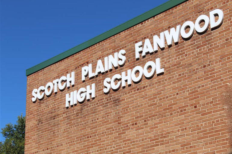 Scotch Plains-Fanwood High School Name on Building (1).png
