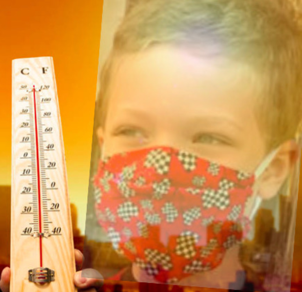 Excessive Heat Makes Mask-Wearing in Schools Difficult