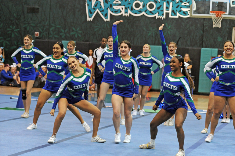Coral Springs High School Cheer Team Finished 3rd At State