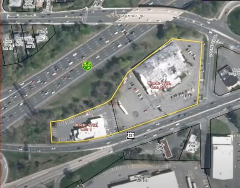 Plans for Vacant Route 22 Hy-Way Bowl Property Moves Closer to Becoming Site of Luxury Car Dealership