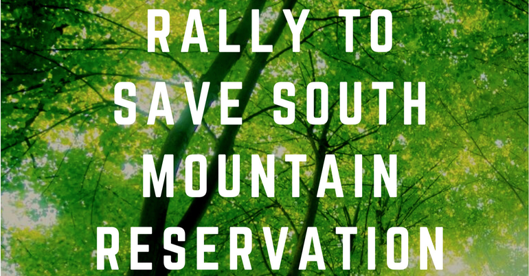 West Orange Students to Lead Rally to Save South Mountain Reservation