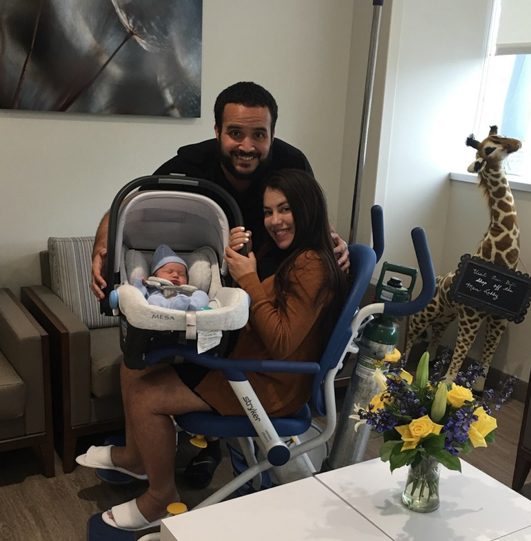 Coral Springs Baby Leaves Hospital After His Relatives Camped Out To See Him