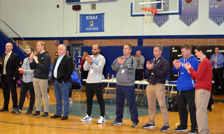 Scotch Plains-Fanwood Signing Day - Teachers and Coaches applaud.png