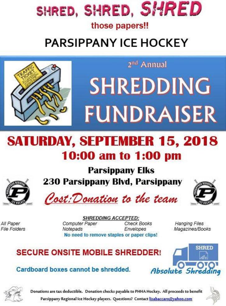 Parsippany Ice Hockey Shredding Event