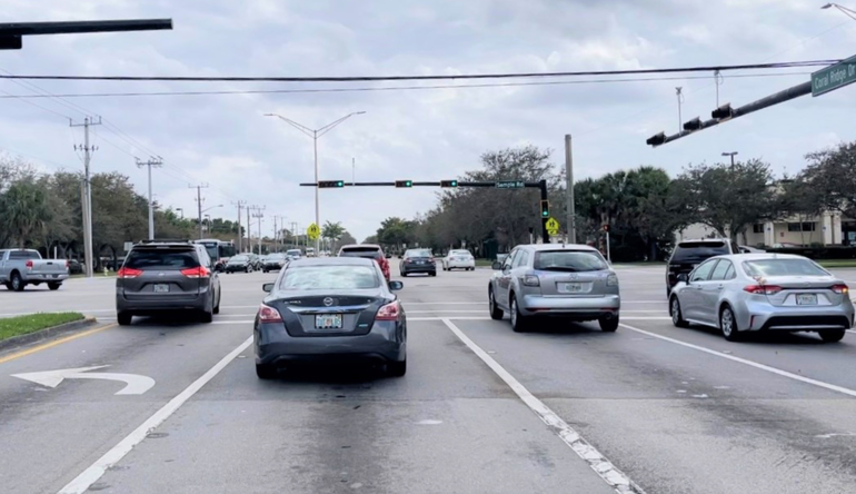 The intersection of Coral Ridge Drive and Sample Road in Coral Springs will be part of new construction.