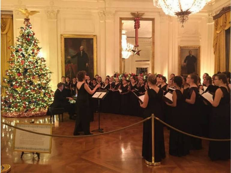 Members of New Jersey Youth Chorus performing at the White House. To arrange a mid-year audition, go to njyouthchorus.org