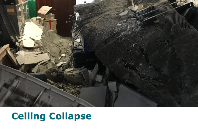 Collapsed Ceiling