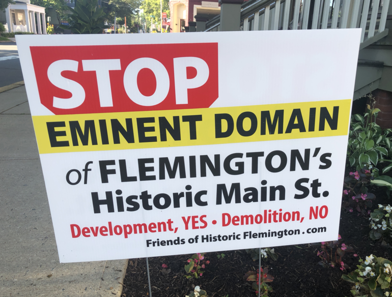 What It Would Take for Me to Remove My 'Stop the Demolition' Lawn Signs