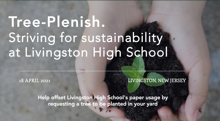 Livingston HS Key Club to Sell Tree Saplings in Effort to Offset Paper Use