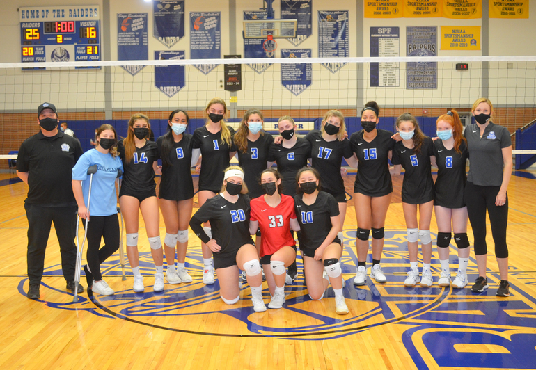 Girls Volleyball: Scotch Plains-Fanwood Defeats Colonia to Claim 1st State Championship
