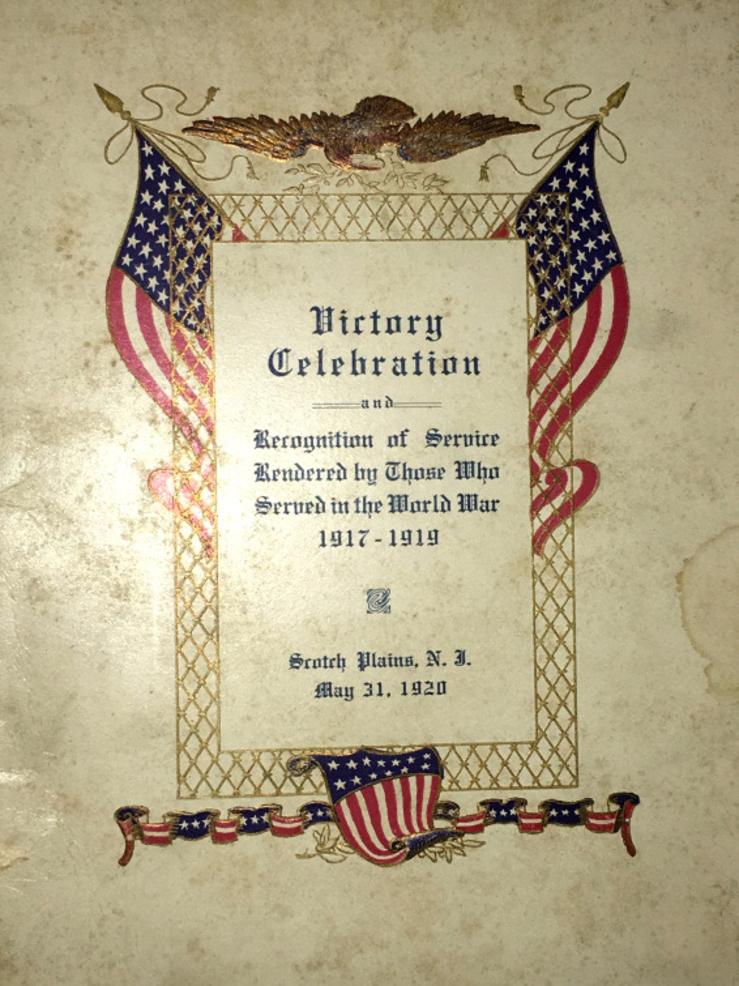 Scotch Plains victory celebration 1920.png