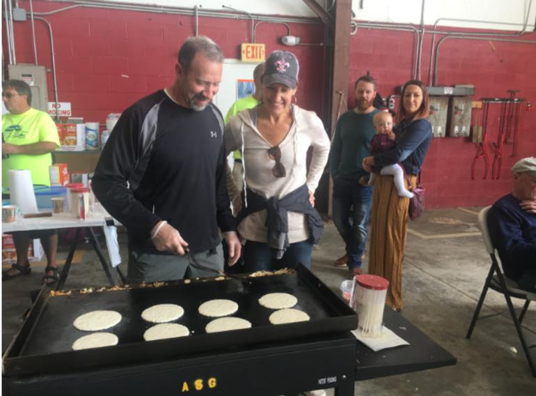 Chris Napoleon (Pancake Breakfast)
