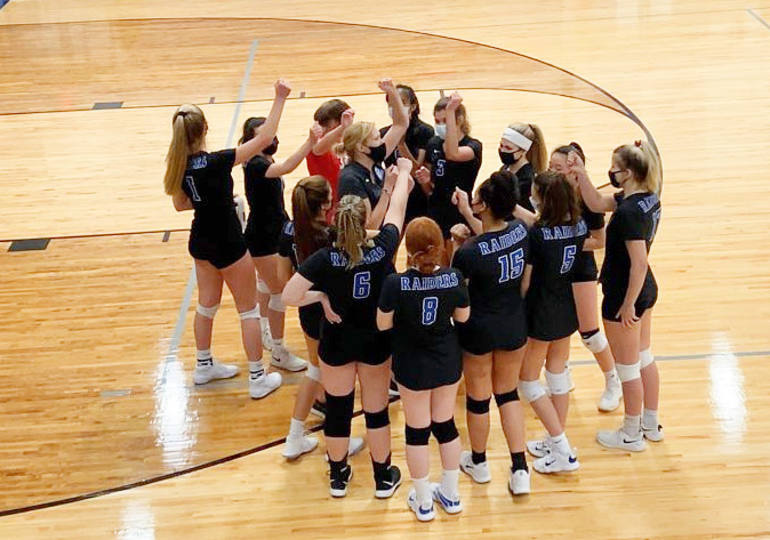Scotch Plains-Fanwood volleyball advances to the sectional final vs. Colonia.