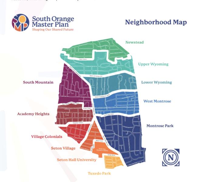 South Orange Seeks Input on Master Plan Draft