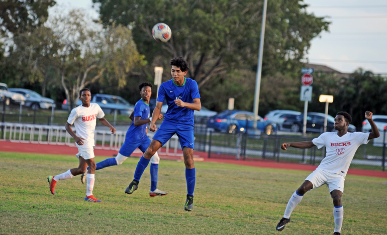 Coral Springs High School Boys Soccer Advances to District Semifinals