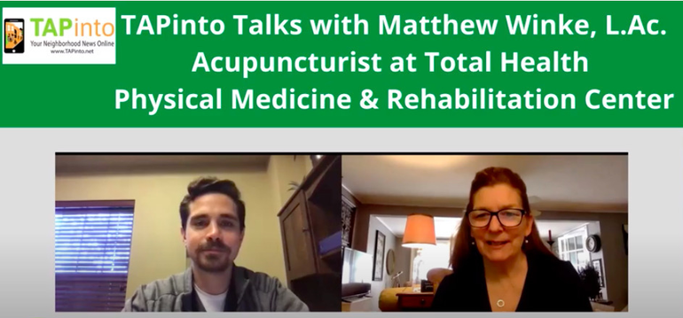 TAPinto Talks with Matthew Winke, Acupuncturist at Total Health in Berkeley Heights