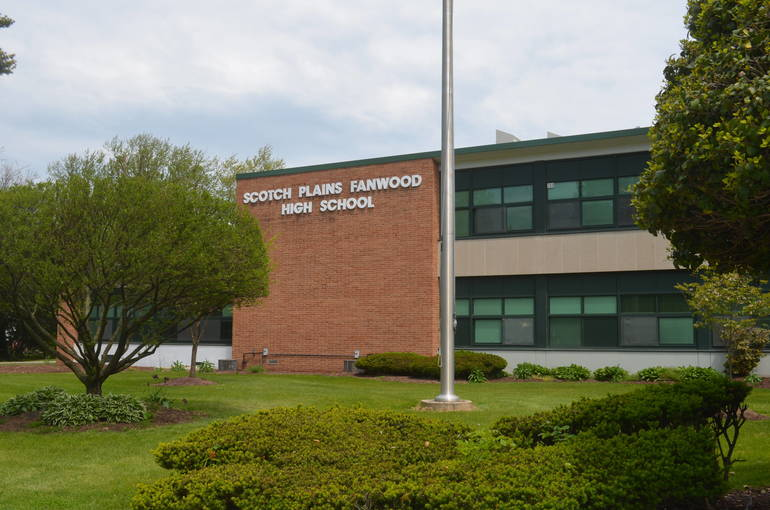 Scotch Plains-Fanwood High School reopened for hybrid instruction on Tuesday, Jan. 19, 2021.