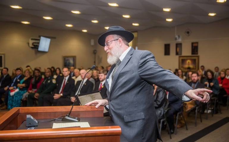 Rabbi Yossie Denburg Has Led Chabad of Coral Springs For Nearly 35 Years