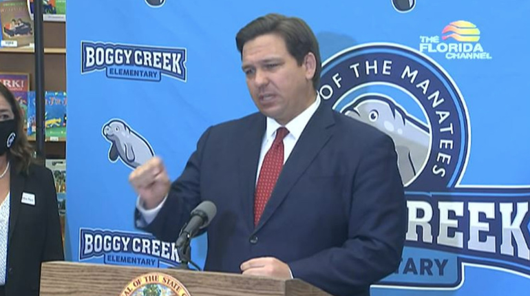 DeSantis: Virtual Learning Can Continue In Schools During Spring Semesters