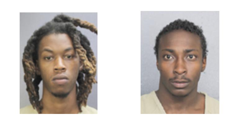 Coral Springs Police Arrest Two Men Allegedly Involved in Car Break-ins