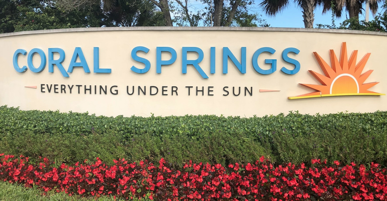 Coral Springs Among Safest Cities in Florida, Study Finds