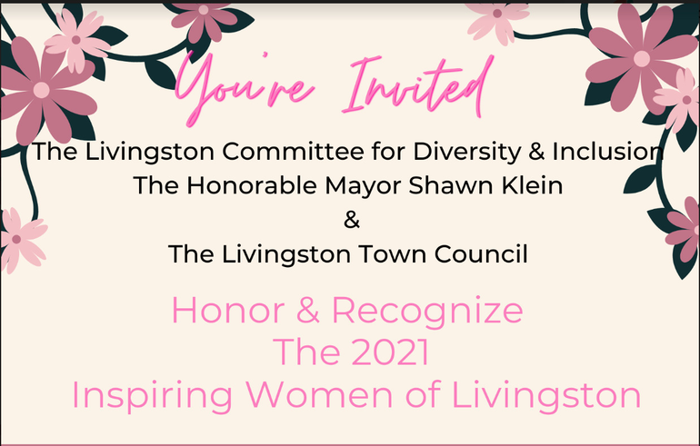 Livingston Council and Diversity Committee to Host Inspiring Women of Livingston Awards