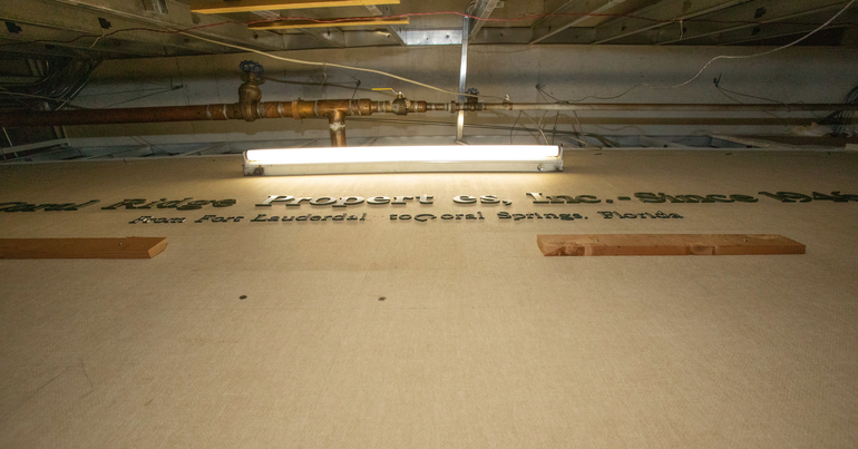 New Photos Show Historic Gems Found In Decaying Coral Springs Financial Plaza