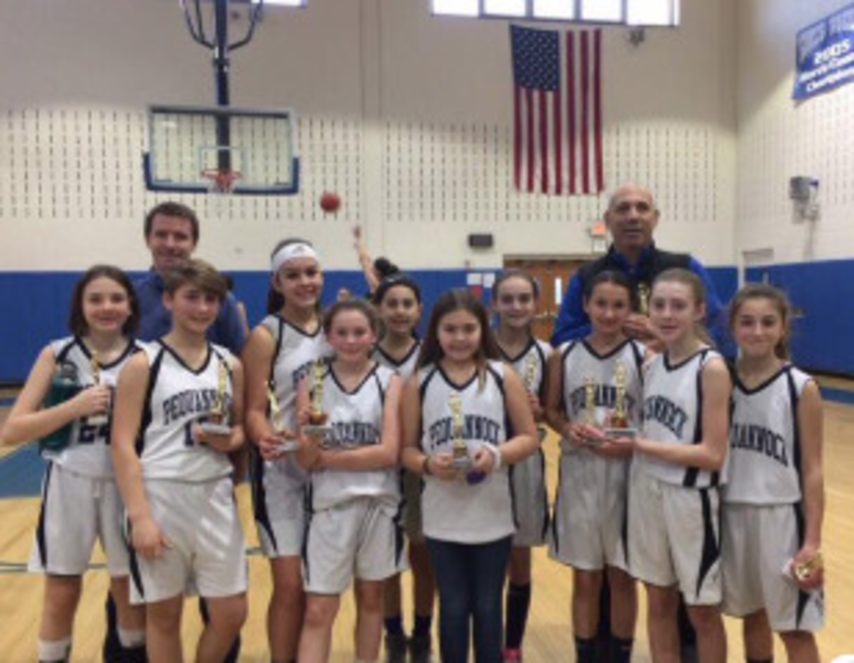 Pequannock Panthers 2nd place 6th grade